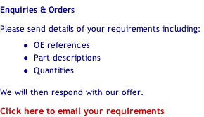 Enquiries & Orders